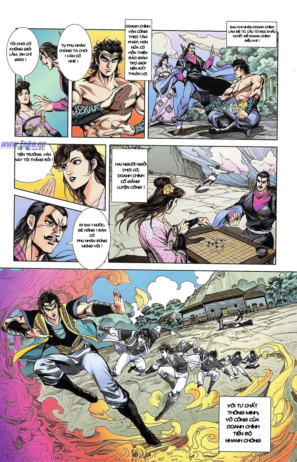 Tần Vương Doanh Chính chapter 14 trang 26
