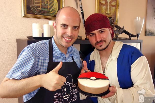 Tarta Pokemon de Oreo y Nutella con la cocina del pirata