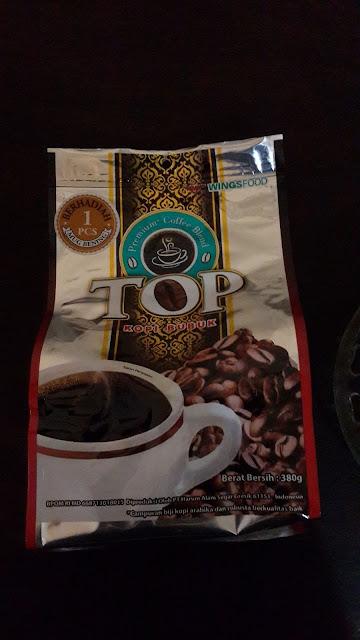 """FLAVORED COFFEE: """"NIKMATNYA TOP PREMIUM COFFEE BLEND"""""""