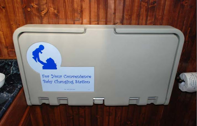 Private Baby Changing Station