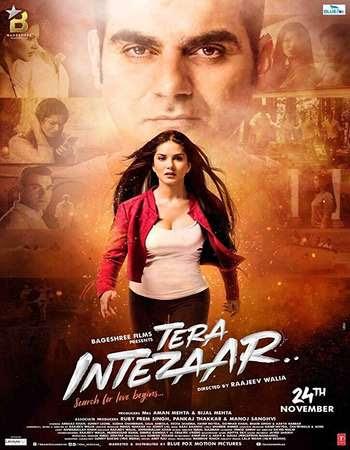 Poster Of Bollywood Movie Tera Intezaar 2017 300MB Pdvd Full Hindi Movie