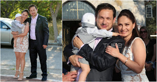 Ο Σταύρος Νικολαΐδης βάφτισε τον γιο του και είναι ένας ευτυχισμένος οικογενειάρχης και περήφανος πατέρας