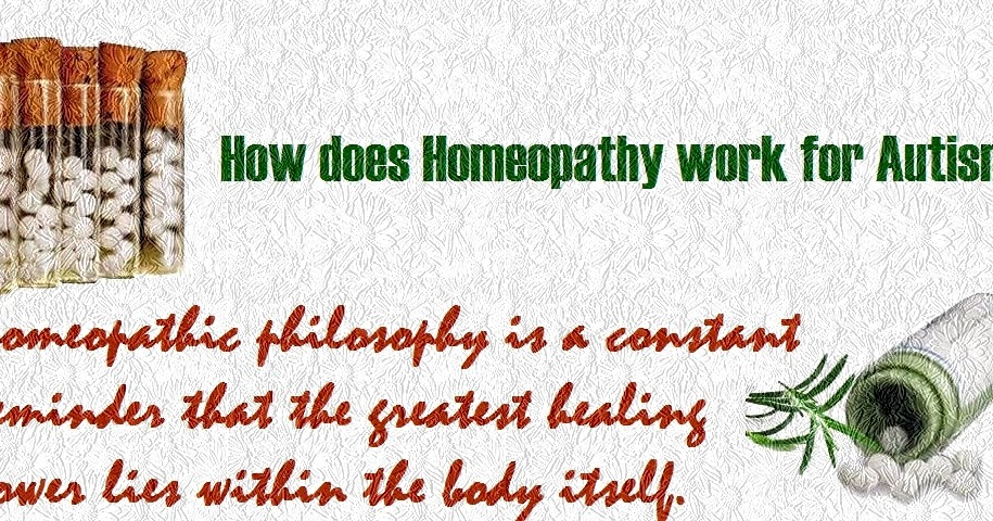 How Homeopathic Remedies Treating Autism Spectrum Disorder