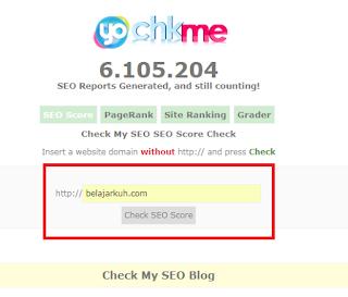 Cara Mengecek Kualitas SEO Blog - 100% Work