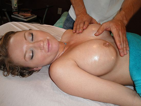 Wife massage sex