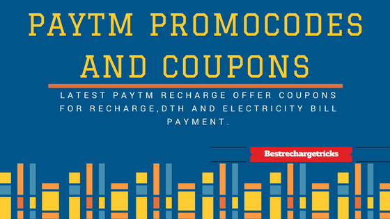 Paytm recharge promocode,Paytm recharge coupons,Paytm coupons,latest Paytm coupons,latest Paytm Coupons for recharge