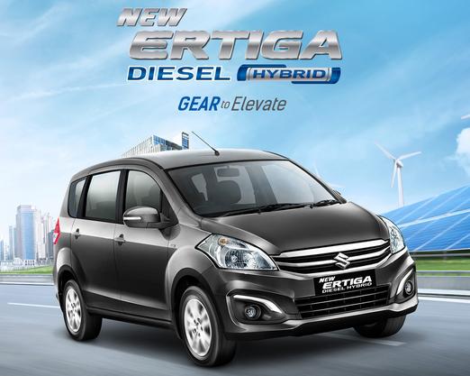 Mobil New Ertiga Diesel Hybrid Tulungagung
