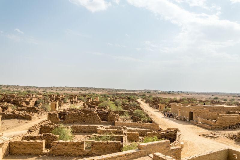 Wide roads of Kuldhara
