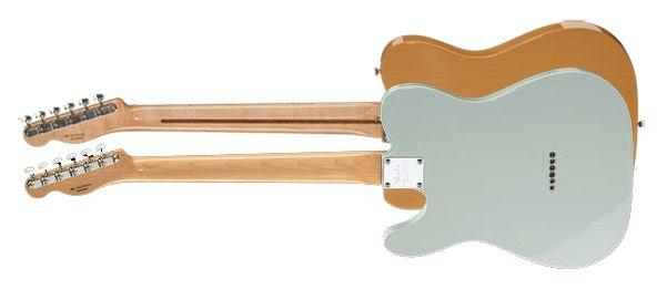 Linea o Canaladura de la Parte Posterior del Mástil de Guitarra