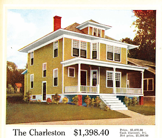 yellow color house: Aladdin Charleston, 1916 Aladdin catalog