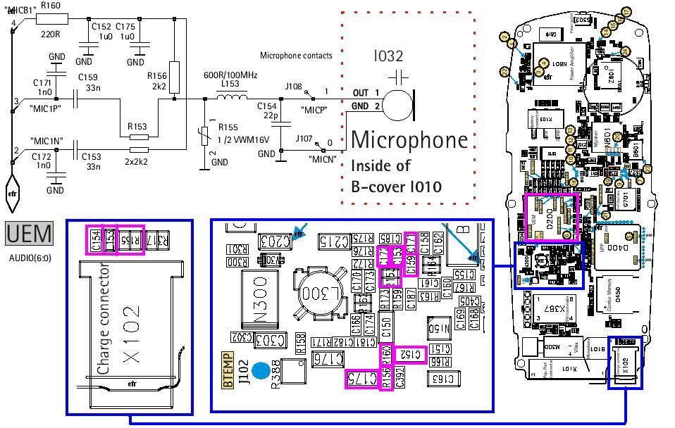 Nokia 6100 Mic Problem Repair Guide
