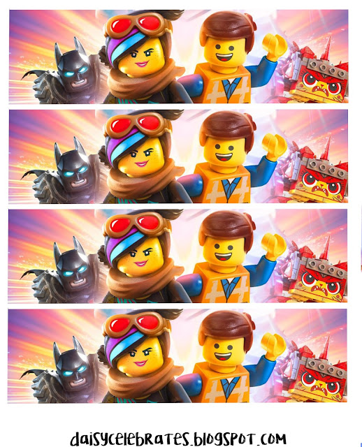 Lego Party Free Printable Mini Kit.