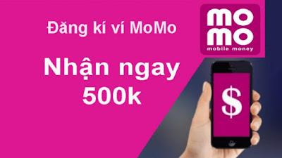 Cách đăng ký ví Momo nhận quà ưu đãi 500k