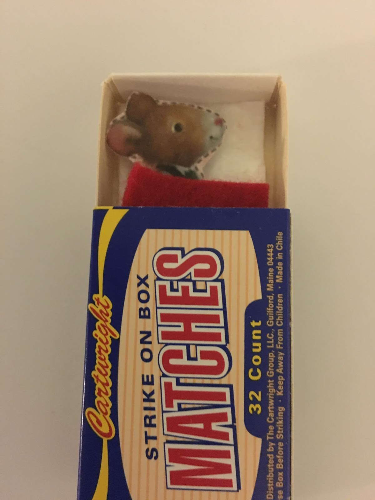 Mindy Baker Books Mouse In A Matchbox Craft Idea For Kids