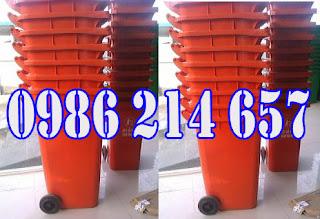 thung rac cong cong 240l