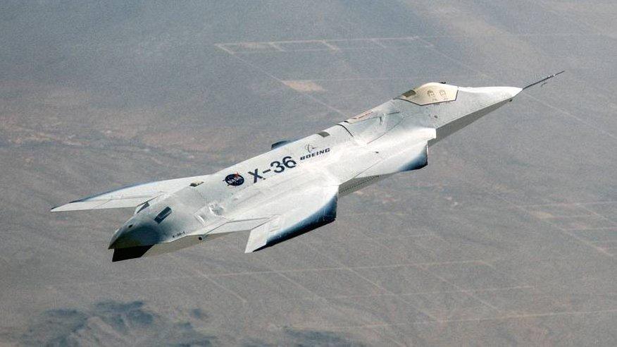 Американцы уже начинали разработку истребителя 6-го поколения...