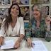 A cantora Gospel Jozyanne esteve na MK Music para a assinatura do contrato de gestão do seu canal no YouTube