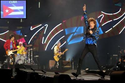 Vamos pra Cuba: Rolling Stones anunciam show grátis em Havana