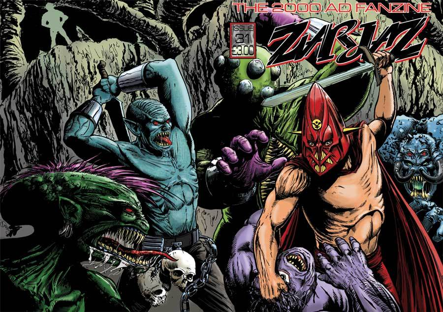 The imaginarium comics reviews and some other stuff considering that 2000ad is over forty years old now its admirable that there are fanzines that manage to bring new and interesting content from creators thecheapjerseys Images