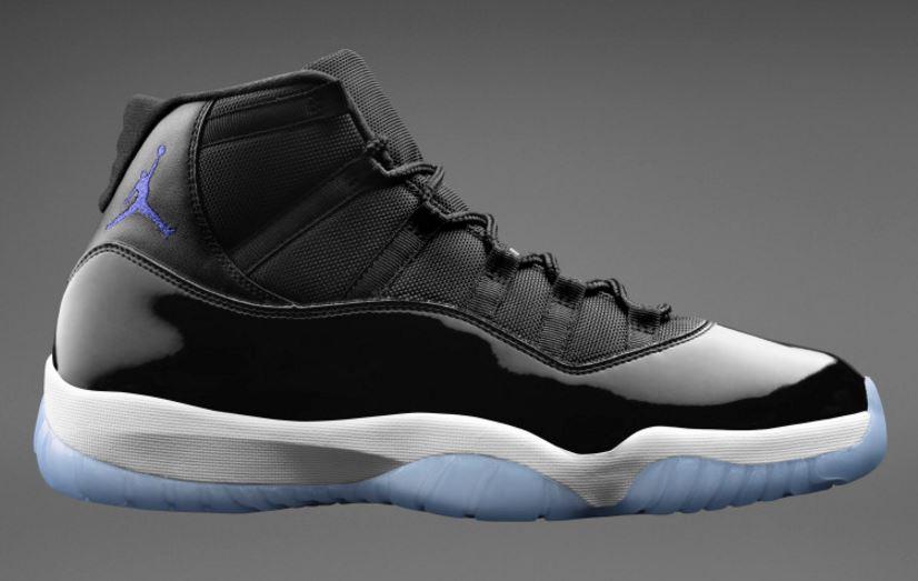 8627123dc76275 THE SNEAKER ADDICT  Air Jordan 11 Space Jam Retro Sneaker (Detailed ...