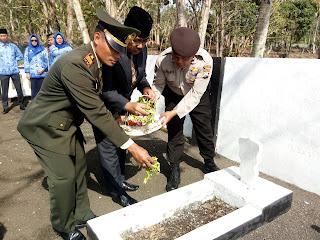 upacara hari pahlawan kecamatan pagak 2018