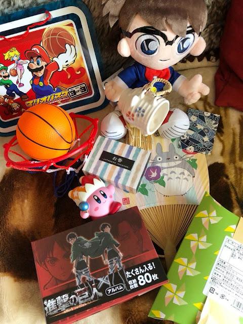 Unboxing Nihon Box L'été au Japon