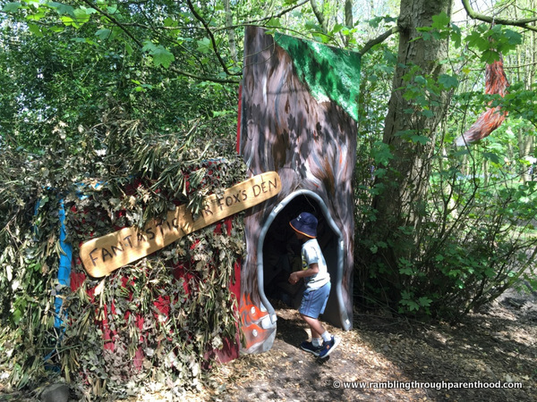 Fantastic Mr Fox's Den