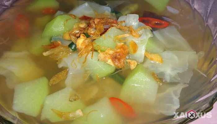 Resep cara membuat sayur asem labu siam