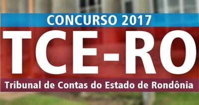 Concurso TCE-RO 2017
