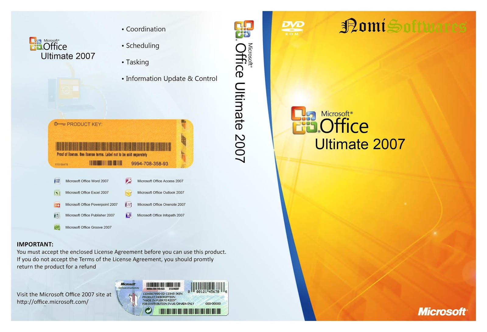 Microsoft Office 2007 Ultimate buy key