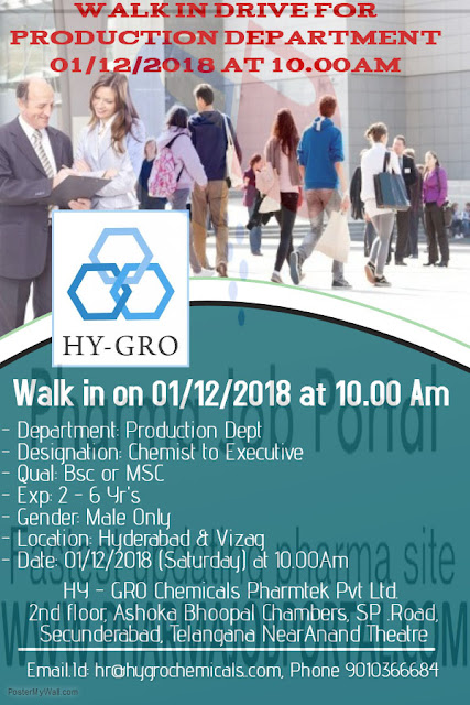 HY-GRO Chemicals Walk In Interview at 1 Dec.