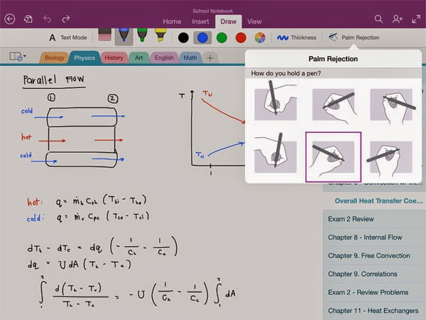 OneNote for iPad gets Handwriting support; Android, iPhone, Mac and Windows (PC + Phone) gets OCR support