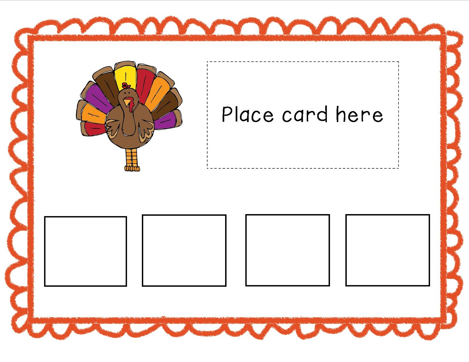 Mrs Ludwig S Speech Room Thanksgiving Here We Come
