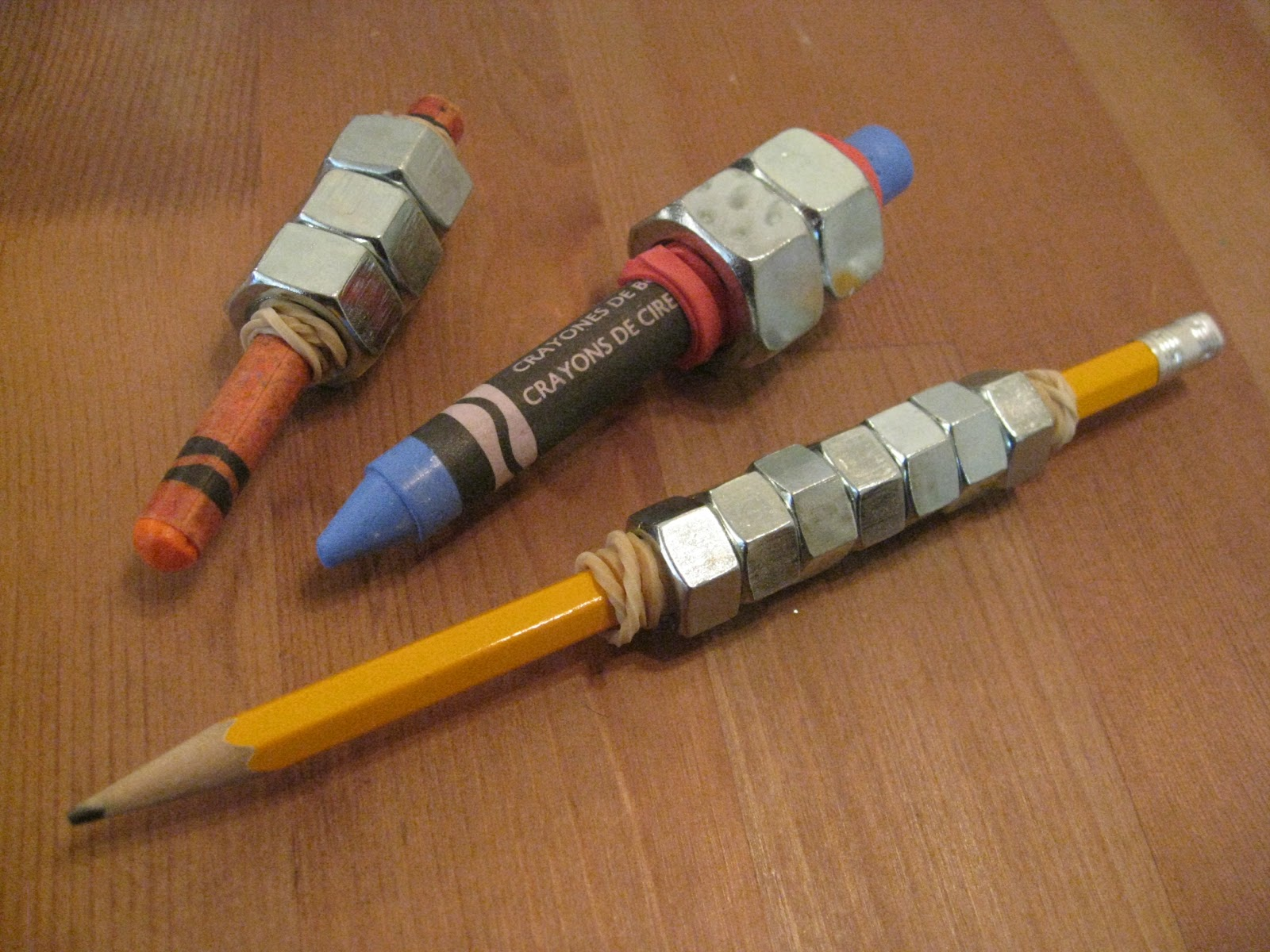 Ot Cafe How To Make A Weighted Pencil