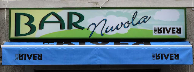 Bar nuvola, Cloud Bar, via Magenta, Livorno