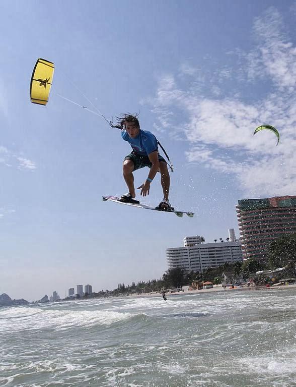 Kite Surfer Hua Hin Strand