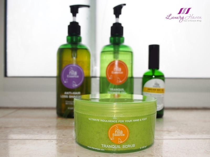 aromatherapy essential oils nila essence tranquil scrub sale