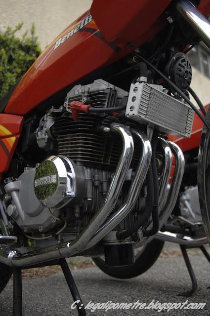 Les cousines Benelli / Moto Guzzi 254 (Années 70) _DSC0076