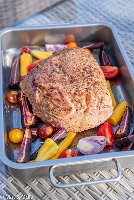 Söndagsmiddag - Kalvstek med gräddsås och kokt potatis