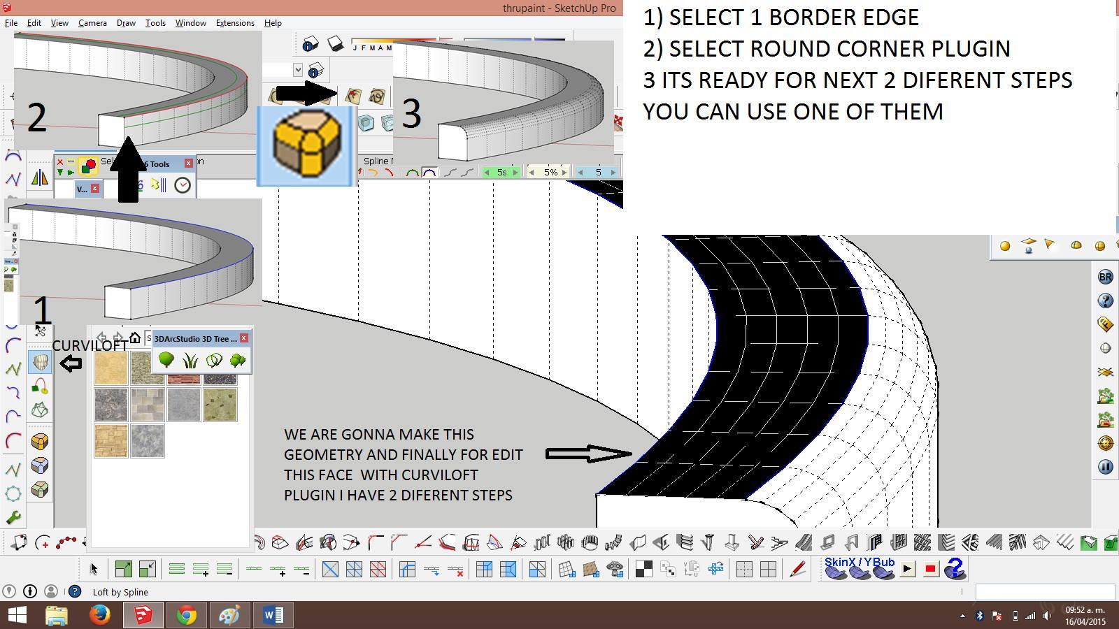 Round corner plugin sketchup 8 free download | SketchUp Plugins