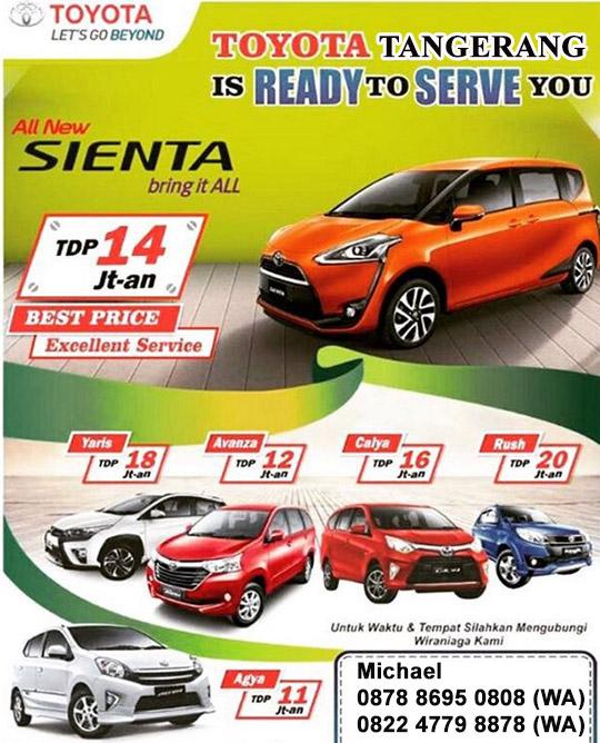 Promo Toyota Tangerang City Tangerang