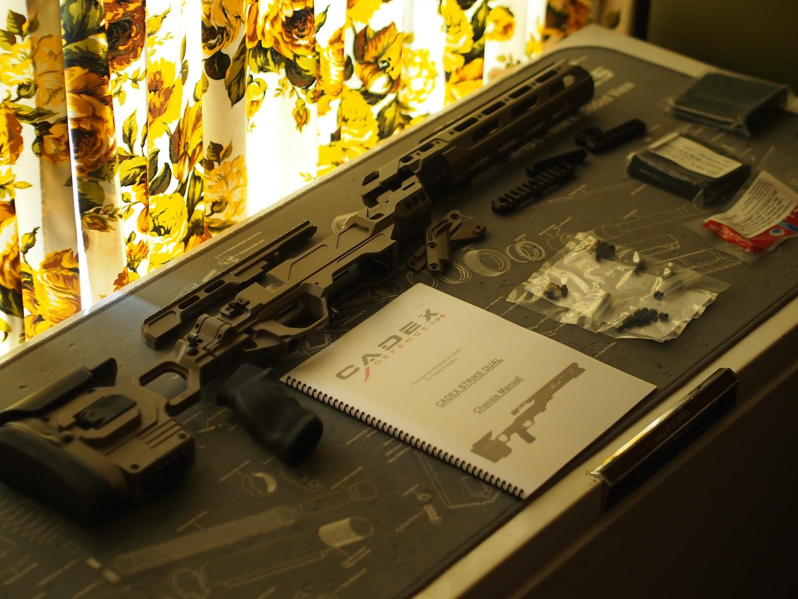 Mister Donut's Firearms Blog: Vincent's Remington 700 build