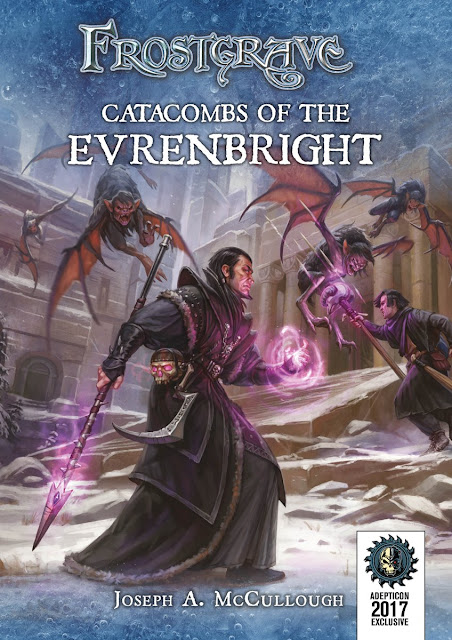 Osprey Games: Exclusive AdeptiCon Printed Frostgrave Catacombs of the Evrenbright Scenario