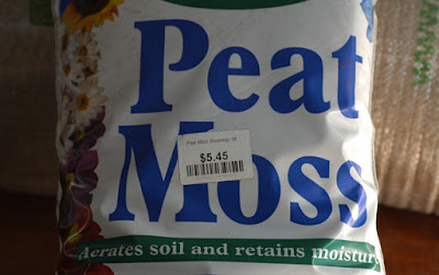 bag of peat moss