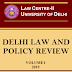Delhi Law and Policy Review invites original, unpublished manuscripts from all academicians, judges, legal professionals and law students