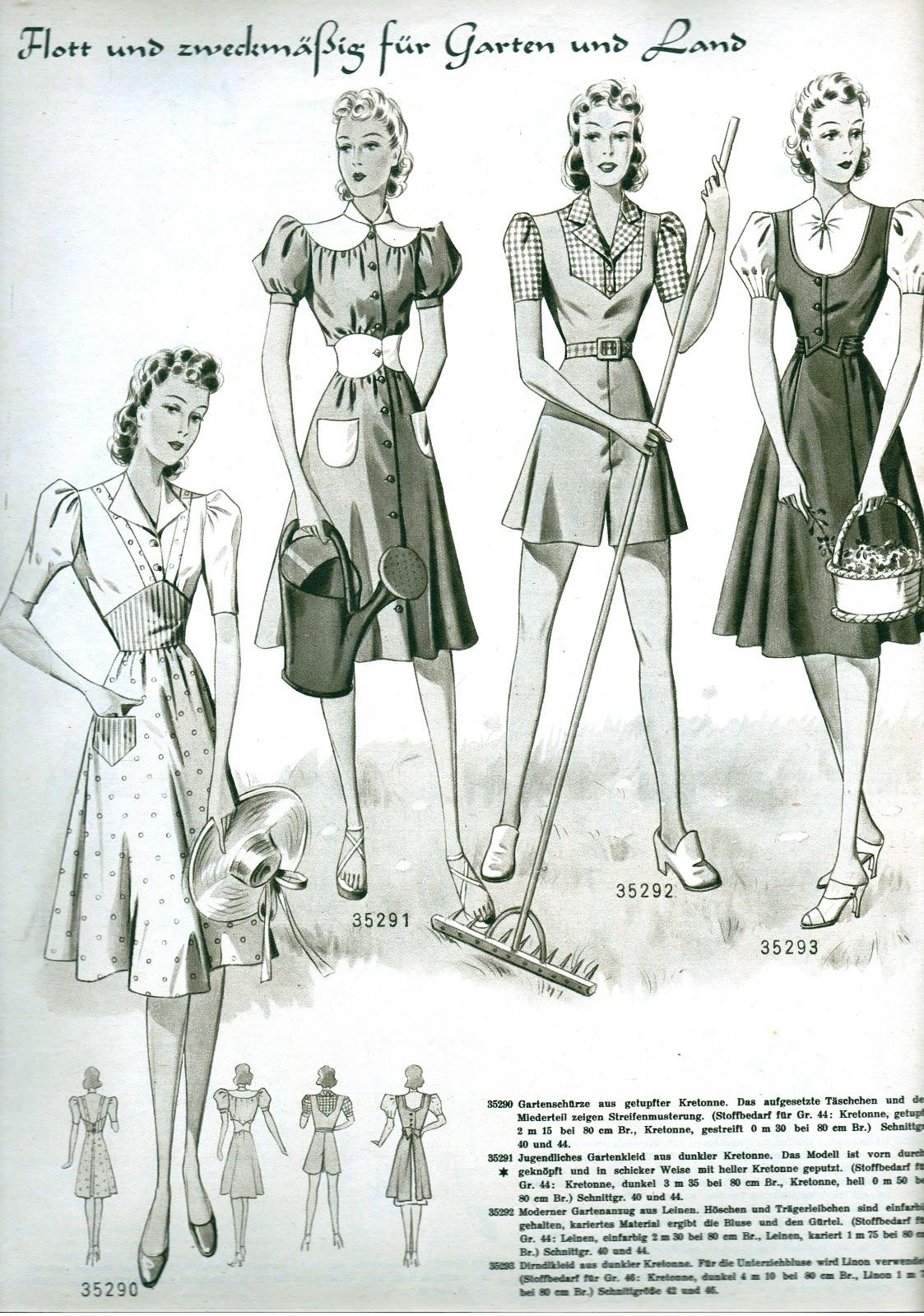 Sew Something Vintage 1940s Fashion: Sew Something Vintage: 1940s Inspiration
