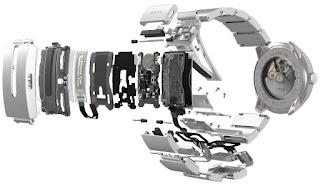 Calibre Seiko 4R35 Wena Wrist Pro