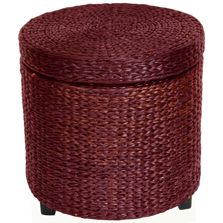Total Fab Wicker Storage Trunk Coffee Tables