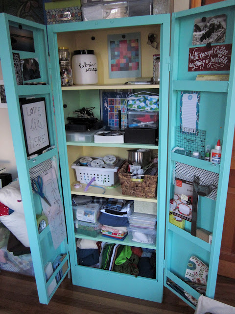 Stories Of A Sister How To Paint A Metal Cabinet