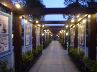 L'esposizione al Teatro dell'Opera. Ho Chi Minh Città